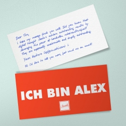Handschrift Roboter ALEX Unisex