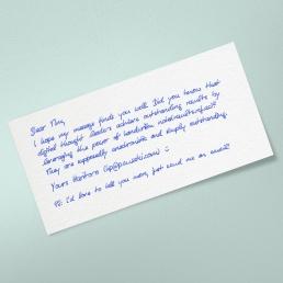 PENSAKI Handschrift ALEX