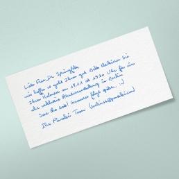 PENSAKI Handschrift GLEN