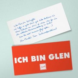 Handschrift Roboter GLEN Unisex