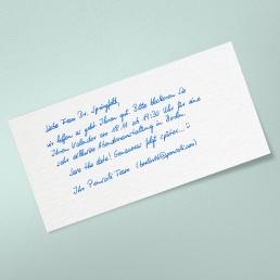 PENSAKI Handschrift SETH