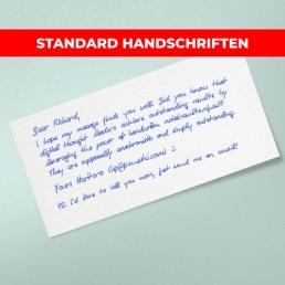 PENSAKI Standard Handschriften sind sofort verfügbar