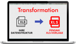 Pensaki Datennimport Transformation XLS Tipps