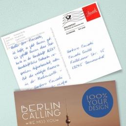 Handschriftliche Postkarten A6 PENSAKI