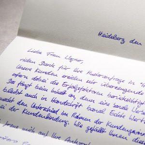 Handschriftlicher Brief A4 650 PENSAKI