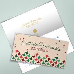 PENSAKI Weihnachtskarten 2020 Handschrift mit Ihrem Logo