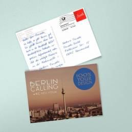 Handgeschriebene Postkarten A6