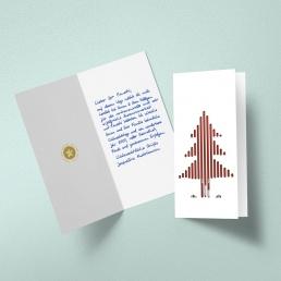 Karten in Handschrift - Handgeschrieben ALEX