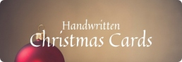 Handwritten Christmas Cards Surprise and Delight