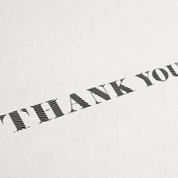 Robot handwritten thank you notes spread positivity