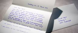 handwritten letter 650 characters