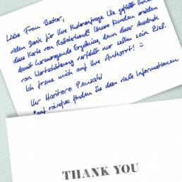 handwritten thank you notes