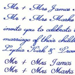 Kalligraphie Handschriften Roboter PENSAKI