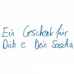 PENSAKI kann auch Ihre persönliche Handschrift schreiben